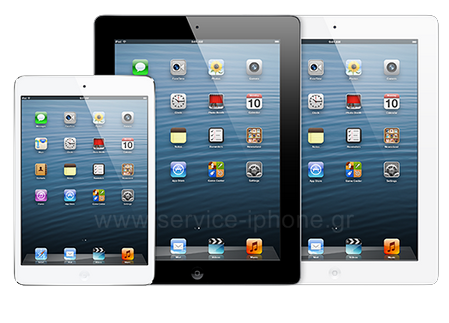 Service iPad - Επισκευή iPad